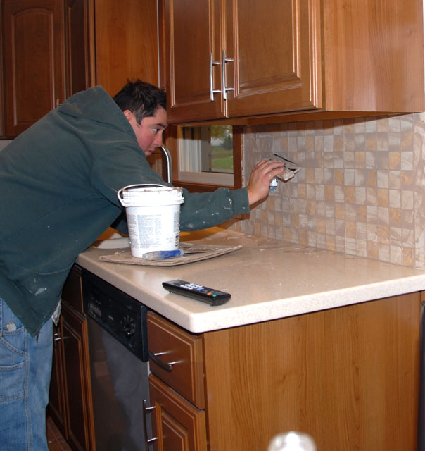 Kitchen Countertops Kenosha: Tom Hansen Kenosha Tom's Apartment Remodel